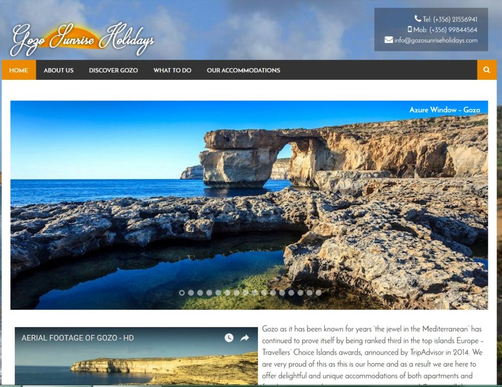Gozo Sunrise Holidays
